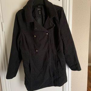 Black Peacoat Style & Co size XL